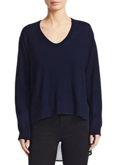 Alexander Wang Plaid-Back Wool Sweater