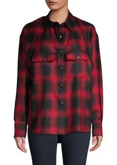 Alexander Wang Plaid Wool Shirt