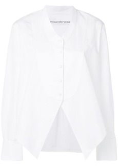 Alexander Wang plain poplin shirt