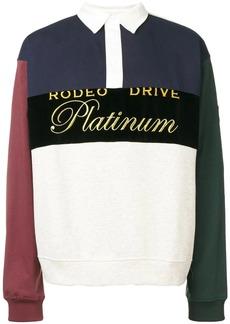 Alexander Wang Platinum Rugby polo shirt