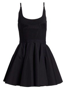 Alexander Wang Poplin Fit-&-Flare Dress