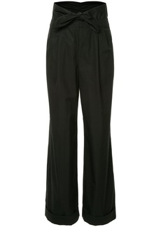 Alexander Wang Poplin Pleat Front trousers