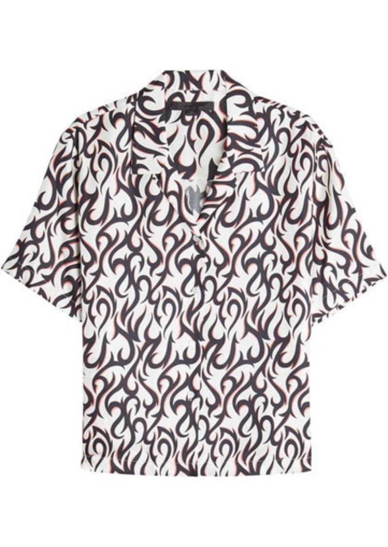 Alexander Wang Printed Silk Blouse