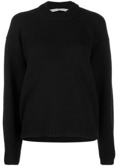 Alexander Wang rear zip detail jumper