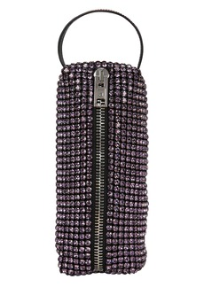 Alexander Wang Rhinestone Pencil Case Pochette