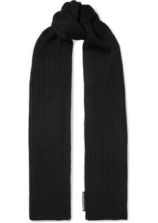 Alexander Wang Ribbed Merino Wool Scarf