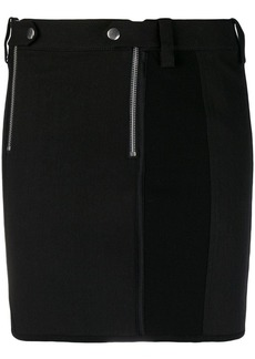 Alexander Wang ribbed zipped skirt