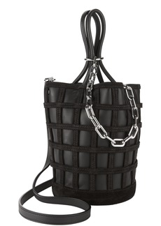 Alexander Wang Roxy Cage Bucket Black Bag
