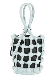 Alexander Wang Roxy Cage Bucket Denim Bag
