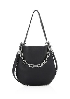 Alexander Wang Roxy Mini Leather Crossbody Hobo