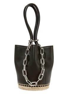 Alexander Wang Roxy Small Espadrille Bucket Bag