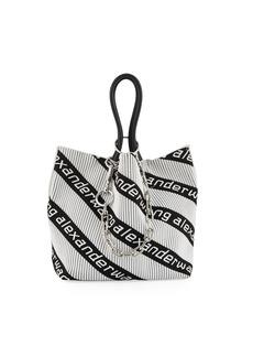 Alexander Wang Roxy Small Soft Jacquard Tote Bag