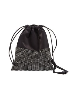Alexander Wang Ryan Mini Crystal Bucket Bag