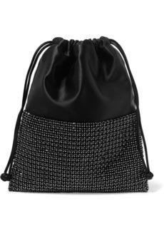 Alexander Wang Ryan Mini Crystal-embellished Satin Bucket Bag