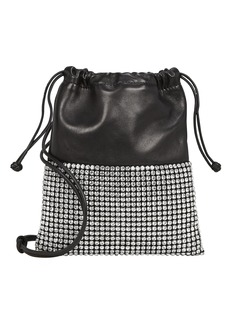 Alexander Wang Ryan Mini Rhinestone Dust Bag