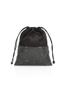 Alexander Wang Ryan Rhinestone & Leather Dustbag