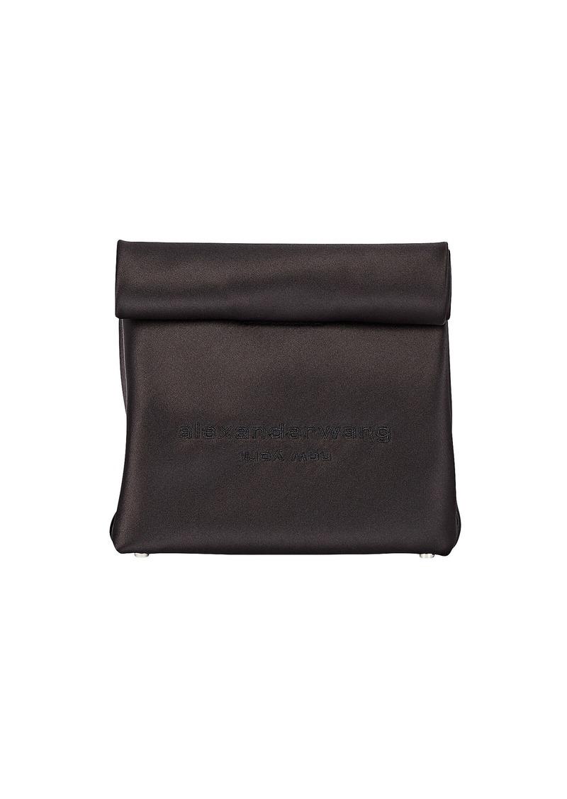Alexander Wang Satin Lunch Bag Clutch