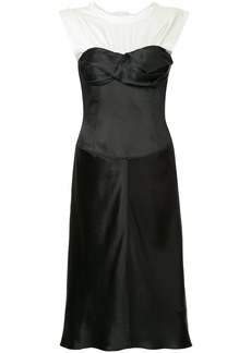 Alexander Wang Satin Twisted Cup dress