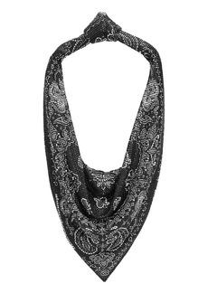 Alexander Wang Scarf Metal Mesh Shoulder Bag