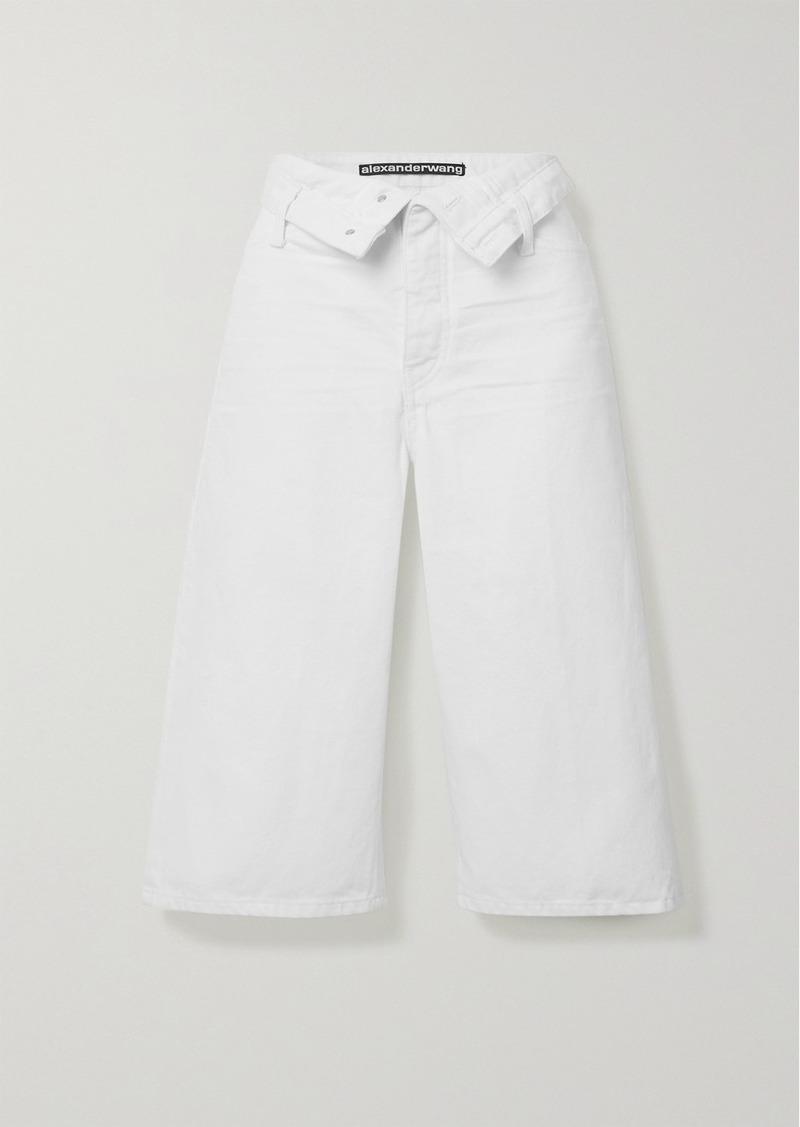 Scout Flip Fold-over Denim Shorts