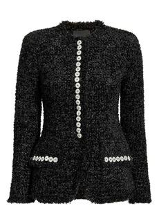 Alexander Wang Sculpted Tweed Jacket