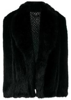 Alexander Wang short faux fur coat