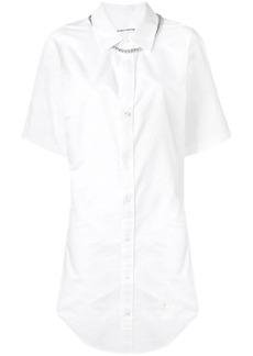 Alexander Wang short-sleeved shirt dress