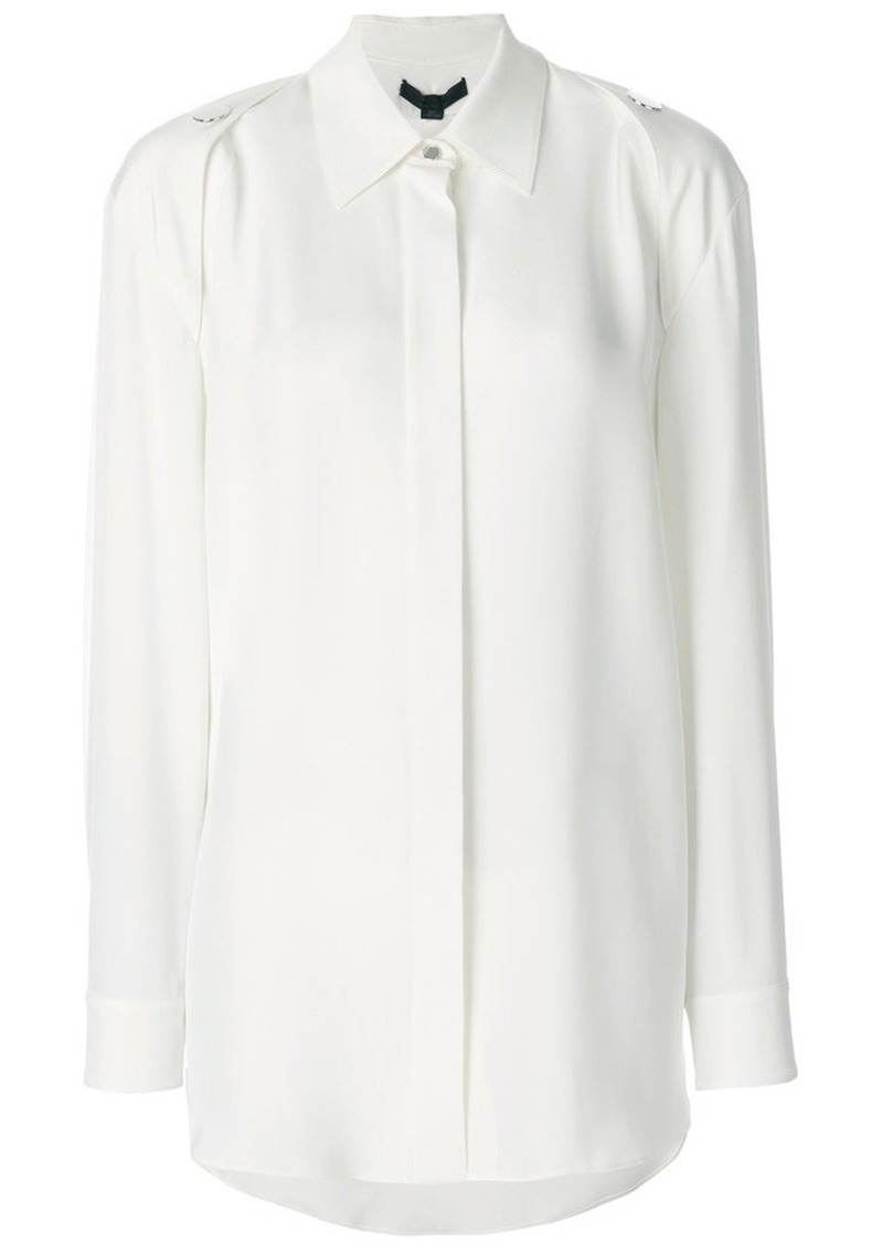 Alexander Wang shoulder button detail shirt