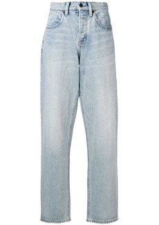 Alexander Wang side zip jeans