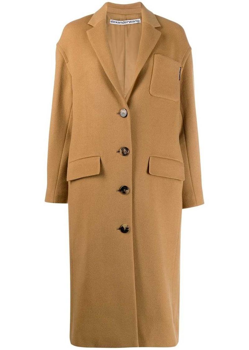 Alexander Wang single breasted coat