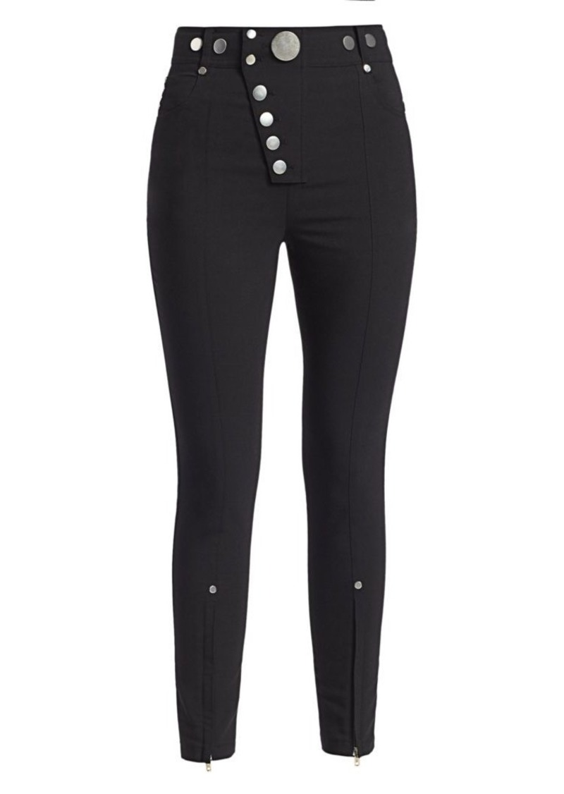 Alexander Wang Skinny Snap Trousers