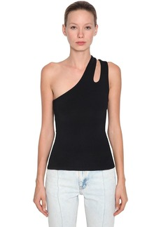 Alexander Wang Sleek Asymmetric Tank Top