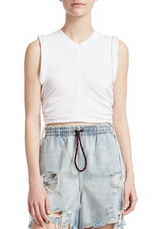 Alexander Wang Sleeveless Side Tie Tee