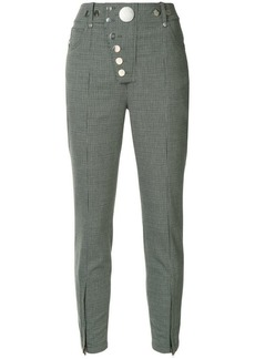 Alexander Wang slim houndstooth trousers