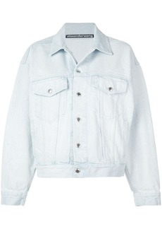 Alexander Wang slouchy denim jacket