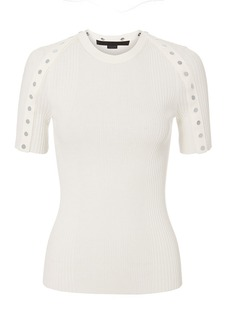 Alexander Wang Snap Sleeve Top