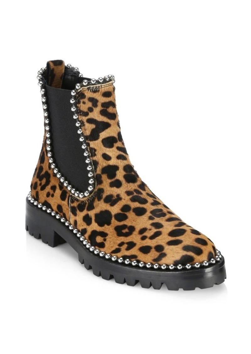 huge selection of a3a1f 0d950 Spencer Leopard-Print Chelsea Boots