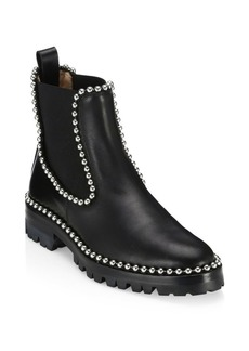 Alexander Wang Spencer Studded Leather Combat Boots
