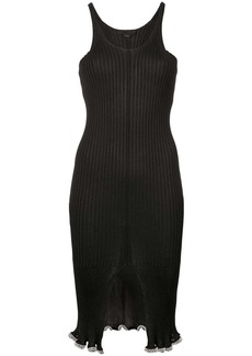 Alexander Wang split front dress