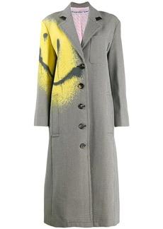 Alexander Wang spray paint detail coat