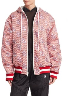 Alexander Wang Stars & Stripes Bomber Jacket