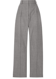 Alexander Wang Stretch Wool And Mohair-blend Tapered Pants