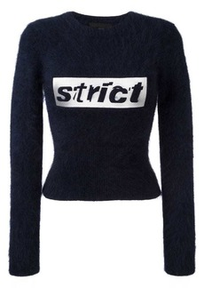 Alexander Wang strict cropped jumper