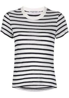T by Alexander Wang striped boyfriend T-shirt