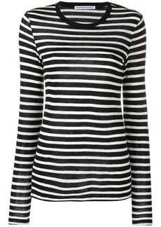 Alexander Wang striped long length top