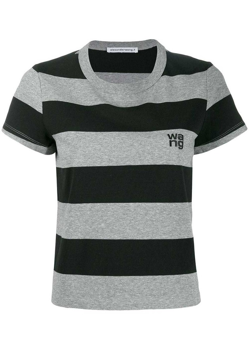 Alexander Wang striped short-sleeve T-Shirt