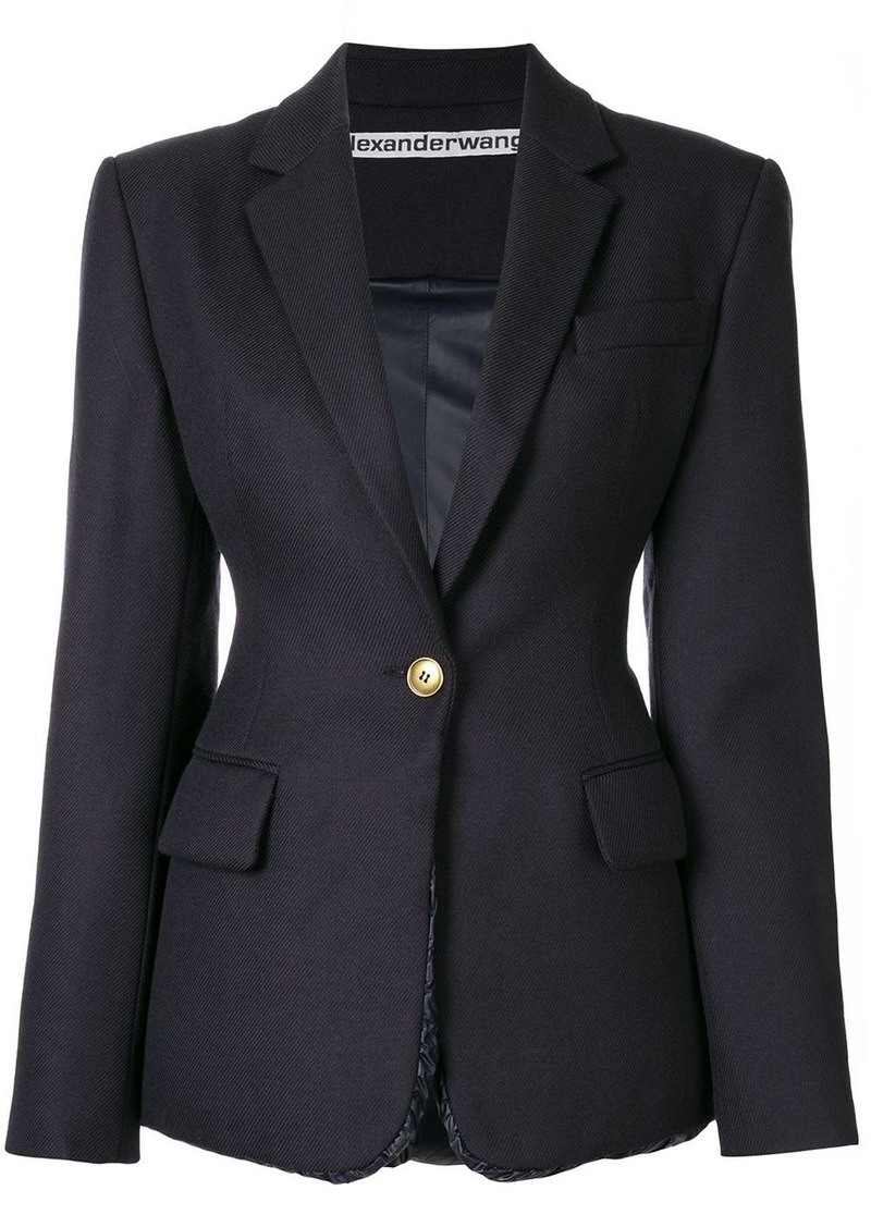 Alexander Wang structured oversized blazer