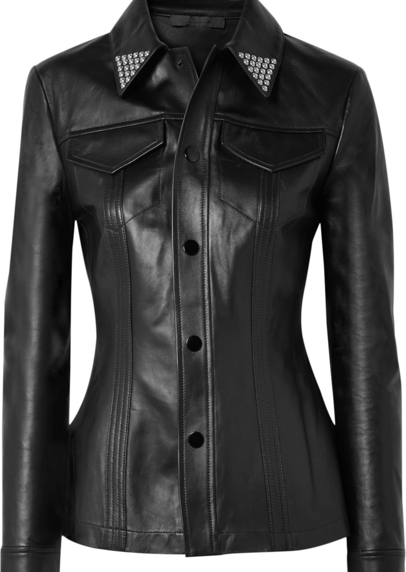 Alexander Wang Studded Leather Shirt