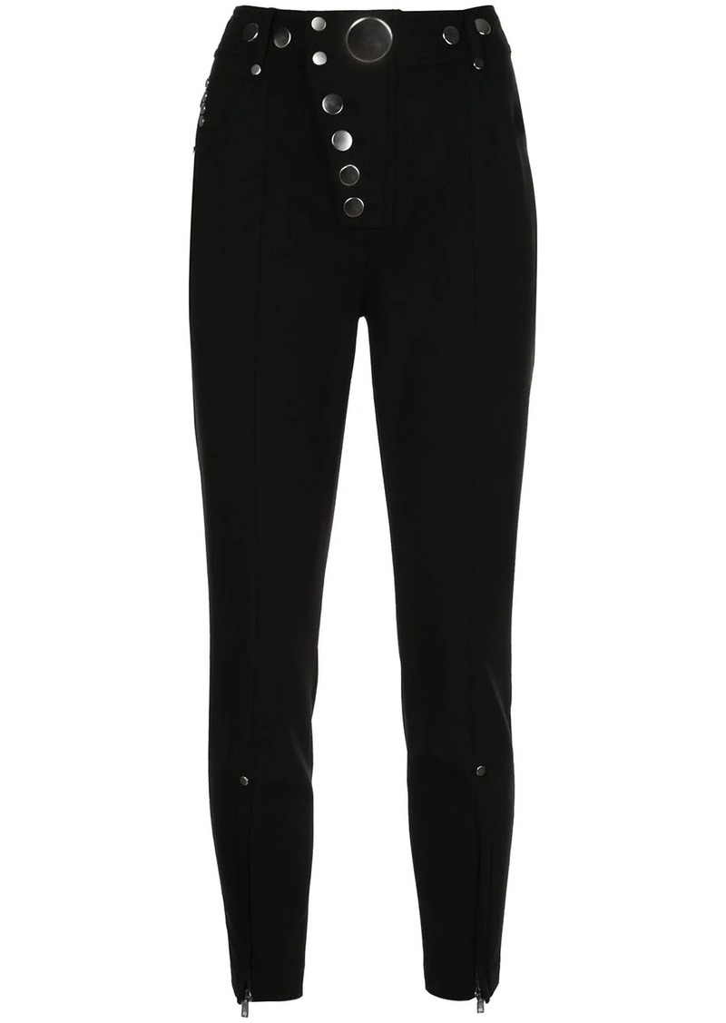Alexander Wang studded skinny trousers