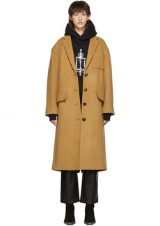 Alexander Wang Tan Drop Shoulder Coat